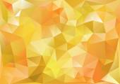 Cubism background Bitter yellow and orange — Stock Vector