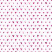 Patrón de corazones acuarela — Foto de Stock