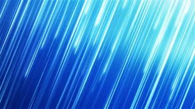 Abstract motion background with blue stripes. — Stock Video