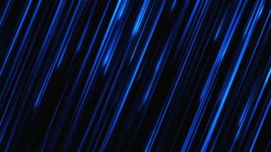Abstract motion background with dark blue stripes. — Stock Video