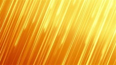 Abstract motion background with gold stripes. — Stock Video