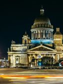 Saint Isaac's Cathedral. Saint-Petersburg. Russia — Stock Photo