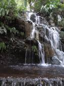 Beautiful waterfall in Cupatitzio Park, Uruapan, Michoacan — Stock Photo