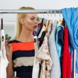Nothing to wear and hard to decide concept — Stock Photo #78351432
