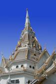 The temple roof in thailand — Stock Photo