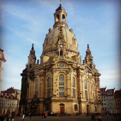Church of our lady, Dresden, Germany — Stock Photo