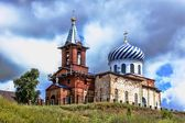 Church and Monastery in Birsk — Stock Photo