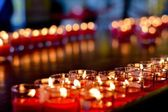 A lot of candlelights — Stock Photo