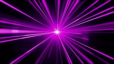Purple light streaks. Abstract motion background. — Stock Video