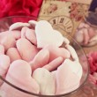 Assorted heart shaped biscuits — Stock Photo #71508717