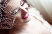 Bride on her wedding day — Foto de Stock