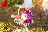 Beautidul wedding bouquet — Stock Photo
