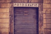 Old photography studio — Stock Photo