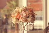Beautiful wedding flower bouquet — Stock Photo