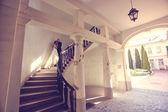 新郎新婦の階段 — ストック写真
