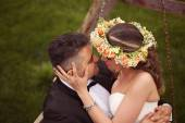 Beautiful bridal couple — Stock Photo