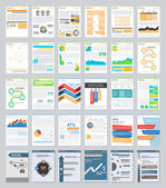 Business infographics elements set — Stock Vector
