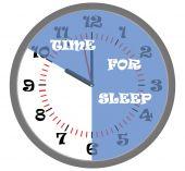 Time for sleep — Stock Vector