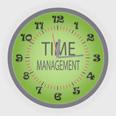 Time managment — Stock Vector