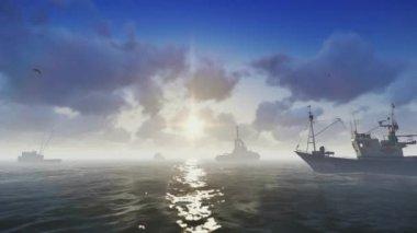 Gemiler — Stok video