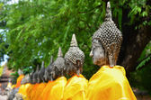 Buddha statue,thailand. — Stock Photo