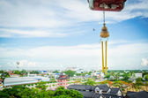 View over Suphanburi city, Thailand — Fotografia Stock