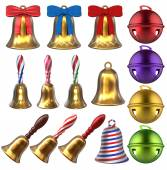 3D Bells Set — Stock Photo