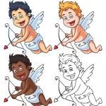 Cartoon Vector Cupid — Stock Vector #67997419