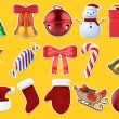 Christmas Stickers 3D Set — Stock Photo #68000799