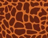 Leather giraffe 2 — Stock Vector