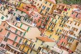 Cinque Terre, Monterosso, Vernazza, Riomaggiore, Corniglia & Manarola, Italy — Stock Photo