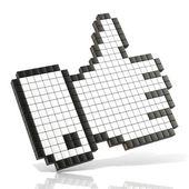 Como símbolo — Foto de Stock