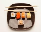 Sushi rolky — Stock fotografie