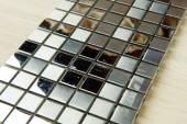 Textur Mosaikfliesen Textur Mosaik Badezimmer Küche Boden und Wände werden zum Reparieren der Räumlichkeiten, Struktur-Design-Dekor. — Stockfoto