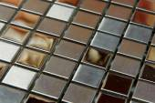 Texture mosaic tiles texture mosaic bathroom to the kitchen floor and walls are used to repair the premises, structure design decor. — Stock Photo