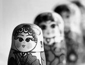 Atryoshka dolls beautiful — Stock Photo