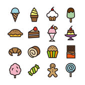 Sweets icon — Stock Vector