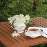 Elderflower tea — Stock Photo #75385965