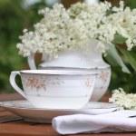 Elderflower tea — Stock Photo #75386003