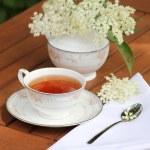 Elderflower tea — Stock Photo #75386155