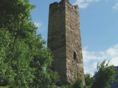 Medieval highland settlements — Stock Video