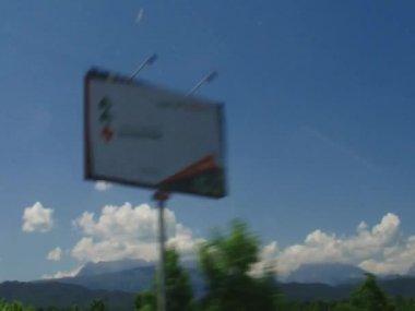 Alpine wegen — Stockvideo