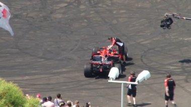 "Car Festival ""Formula 1"" — Stock Video"
