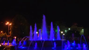 Summer evening in Lazarevskoye, Sochi, Russia — Stock Video