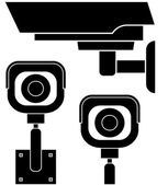 Security Camera icons — Stock Vector