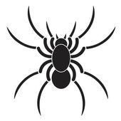Tarantula flat icon — Stock Vector