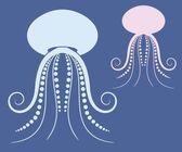Jellyfish — Stock Vector