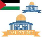 Palestine — Stock Vector