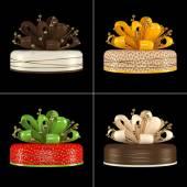 Cake gif — Stock Photo