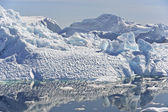 Large icebergs — Stock Photo